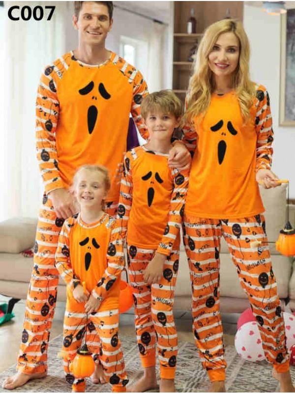 Halloween Family Matching Pajamas Halloween Jammies Set