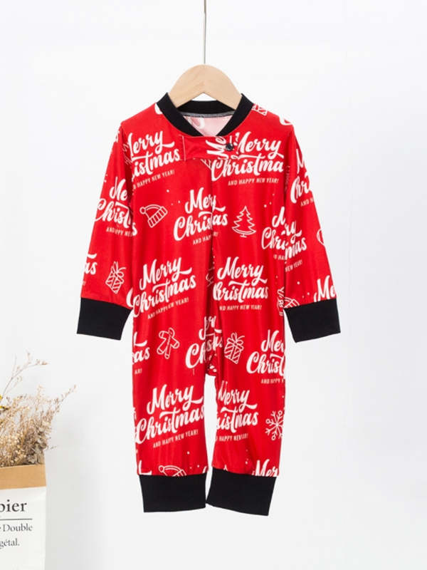 Christmas Family Matching Pajamas Merry Christmas Pajamas Set
