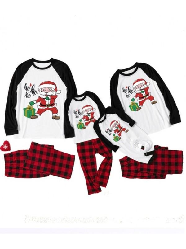 Christmas Family Matching Pajamas Santa Claus Christmas Jammies Set