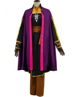 Adult Princess Anna Costume Frozen 2 Cosplay Costume