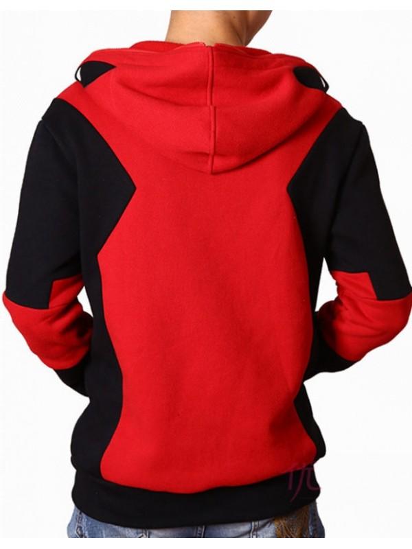 Adult Zipper Superhero Deadpool Hoodie
