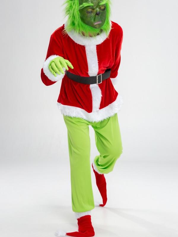 Adult Christmas Grinch Cosplay Costume Christmas Cosplay Costume