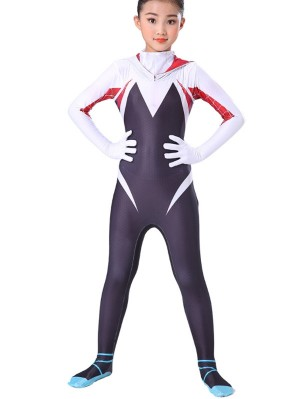 Girls Gwen Stacy Costume Spider Gwen Cosplay Costume For Kid