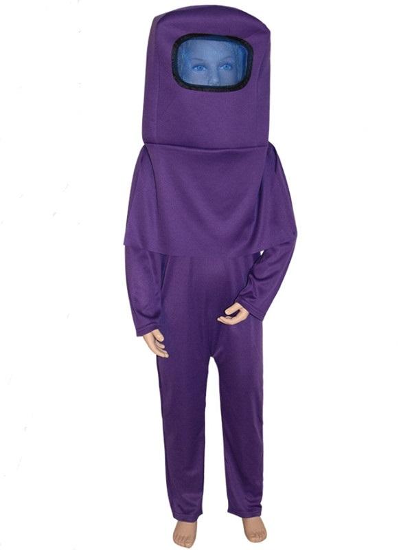 Children's Among Us Astronaut Costume Halloween Costume For Kid