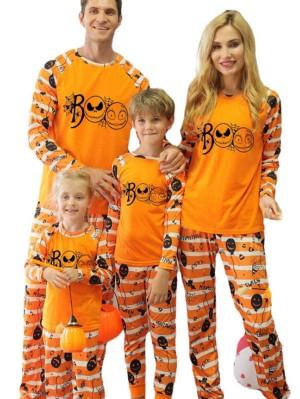Matching Halloween Pajamas Set Halloween Family Jammies
