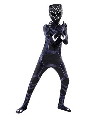 Children's Black Panther Costume Halloween Costume For Kid