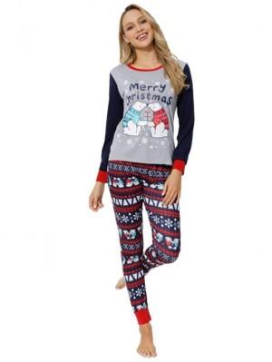 Christmas Jammies Polar Bear Print Christmas Pajamas Matching Family