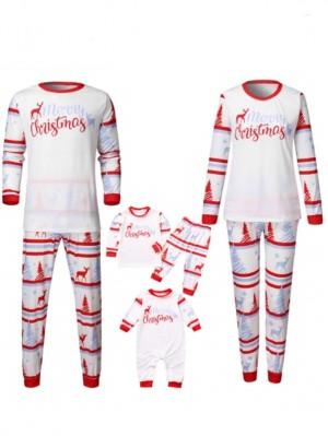 Christmas Pajamas Deer Merry Christmas Family Matching Pajamas