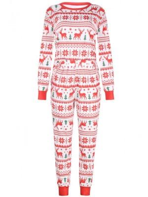 Christmas Family Pajamas Deers Print Christmas Matching Pajamas