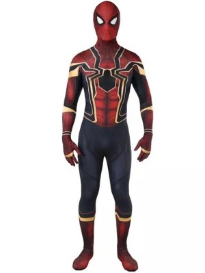 The Avengers Iron Spider-Man Cosplay Costume Marvel Cosplay Costume
