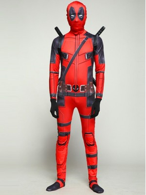 Deadpool Cosplay Costume Marvel Cosplay Costume