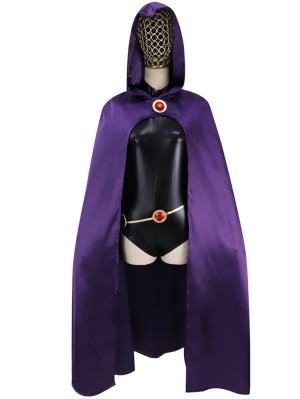 DC Comics New Teen Titans Raven Cosplay Costume