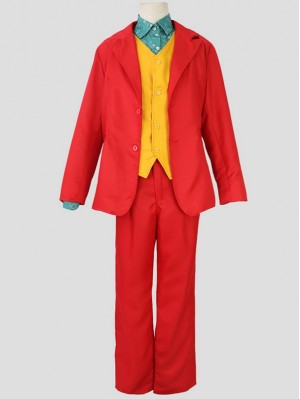 2019 DC Movie Joaquin Phoenix Joker Cosplay Costume