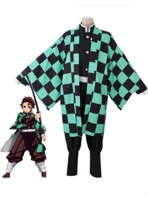 Demon Slayer Cosplay Costume Kamado Tanjirou Cosplay Costume