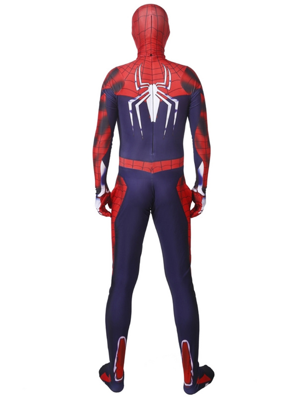 PS4 Spider Man Game Cosplay Costume Halloween Costume