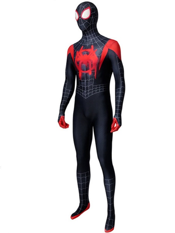 Into the Spider-Verse Spider Man Miles Morales Costume Marvel Cosplay Costume