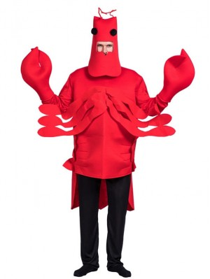 Red Lobster Cosplay Costume Halloween Party Costume