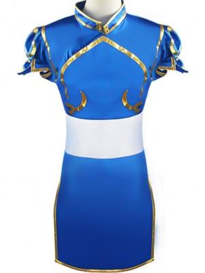Street Fighter Game Costume Chunli Cosplay Costume