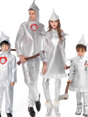 Halloween Matching Family Costume Costume The Tin Man Cosplay Costume