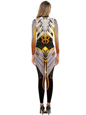 Halloween Game Overwatch Cosplay Jumpsuit For Men And Women