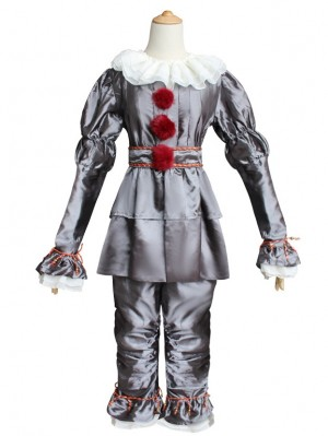 Halloween Pennywise Cosplay Costume Stephen King's It Costume