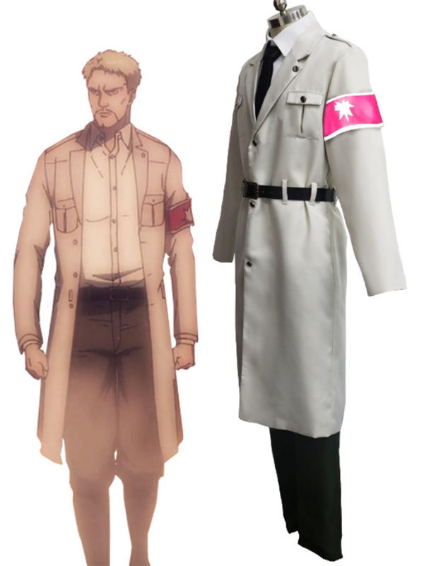 Attack on Titan Marley Cosplay Costume Anime Costume