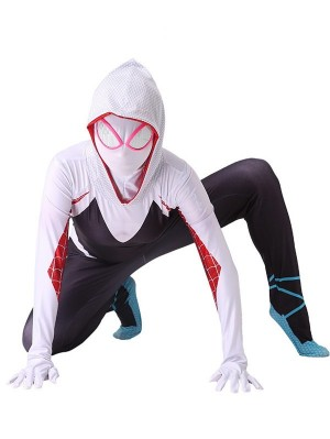 Marvel Spider Woman Spider Gwen Cosplay Costume Gwen Stacy Cosplay Costume