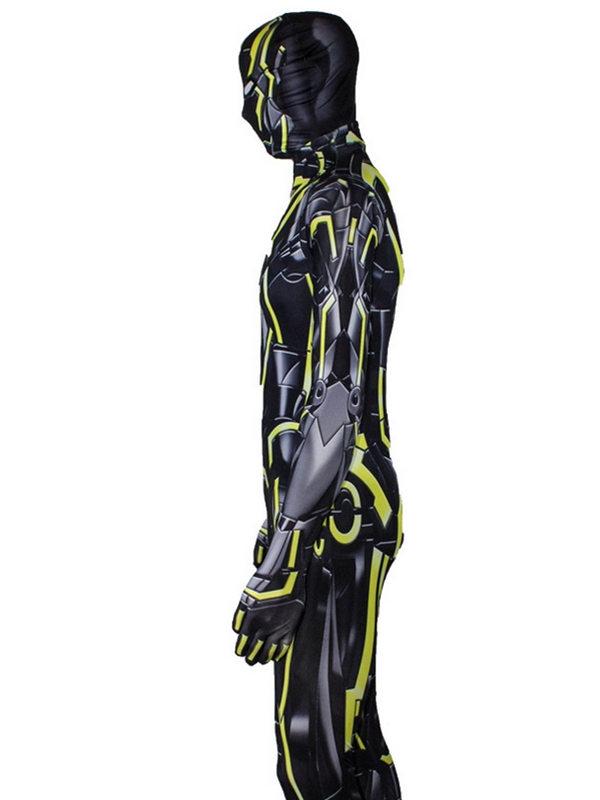 Iron Man 2 Fluorescent Yellow MK 6 Cosplay Costume Iron Man Cosplay Costume