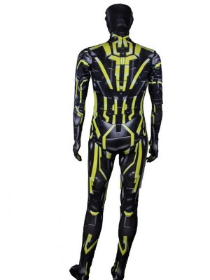 Iron Man 2 Fluorescent Yellow MK 6 Cosplay Costume Iron Man Cosplay Costume