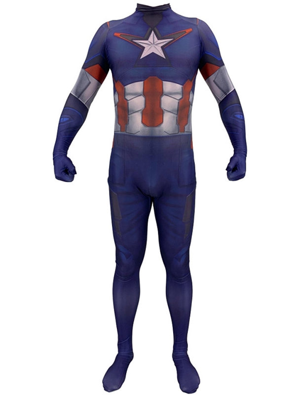 The Avengers End Game Captain America Cosplay Costume Marvel Cosplay Costume