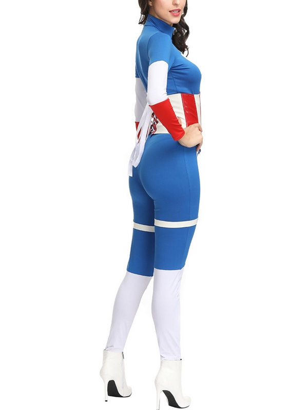 Women's Captain America Cosplay Costume Marvel Cosplay Costume