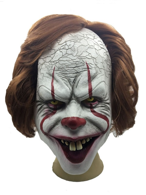 Halloween Horrible Clown Cosplay Mask Latex Clown Mask