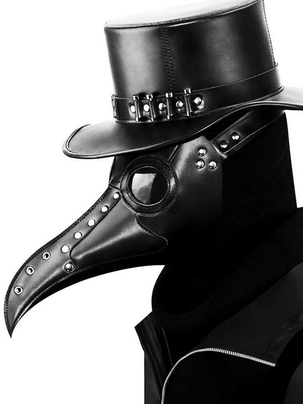 Steampunk Plague Beak Mask Halloween Cosplay Mask