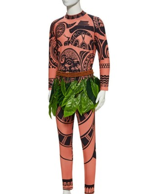 Disney Moana Maui Cosplay Costume Halloween Cosplay Costume