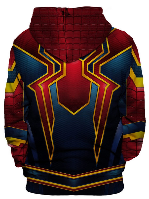 Marvel Avengers Infinity War Spider Man Hoodie