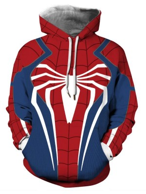 Casual Pullover Marvel Avenger Spider-Man Hoodie