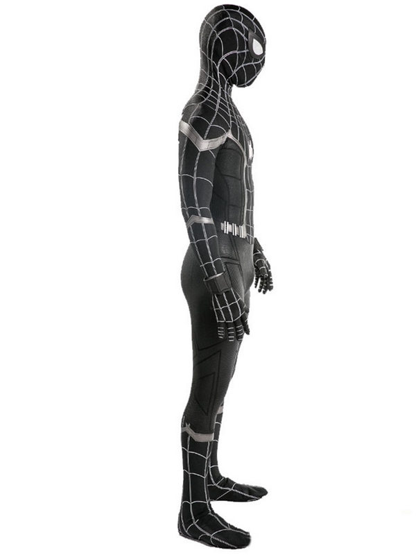 Homecoming Black Spider Man Cosplay Costume Marvel Cosplay Costume