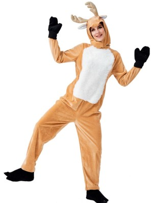 Women's Christmas Elk Cosplay Costume Adult Animal Cosplay Costume