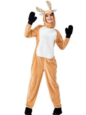 Women's Christmas Elk Cosplay Costume Adult Animal Cosplay Costume