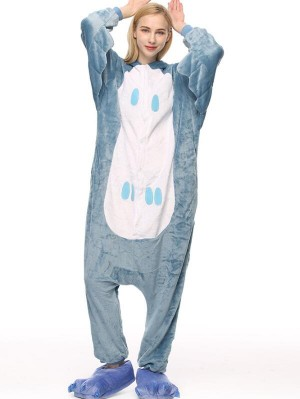 Cute Flannel Loungewear Owl Onesie Pajamas For Adults