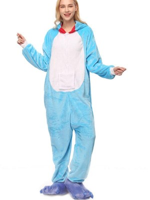 Cute Flannel Loungewear Pokonyan Onesie Pajamas For Adults