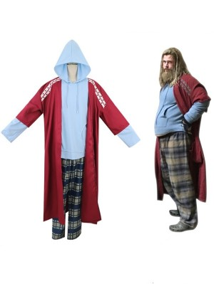 Men's Avengers 4 Endgame Thor Cosplay Costume