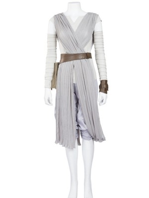 Star Wars The Force Awakens Rey Skywalker Cosplay Costume
