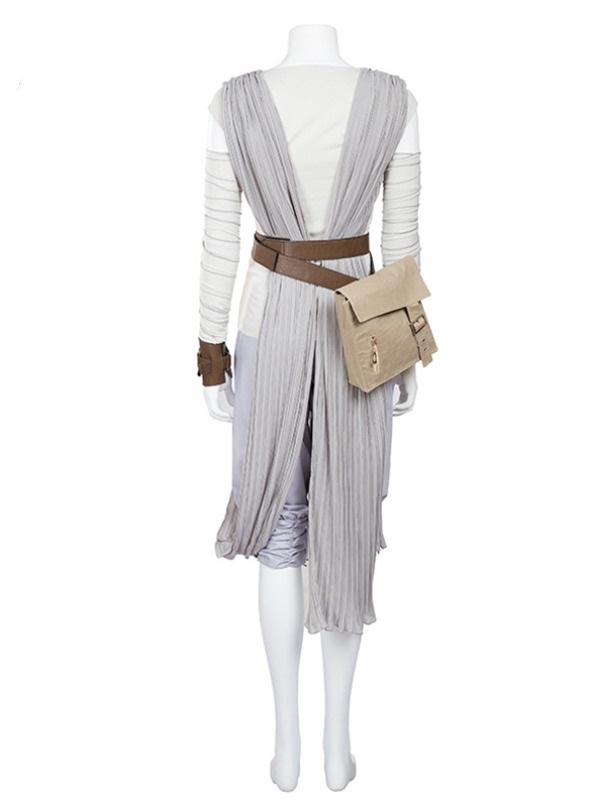 Star Wars The Force Awakens Rey Skywalker Cosplay Costume