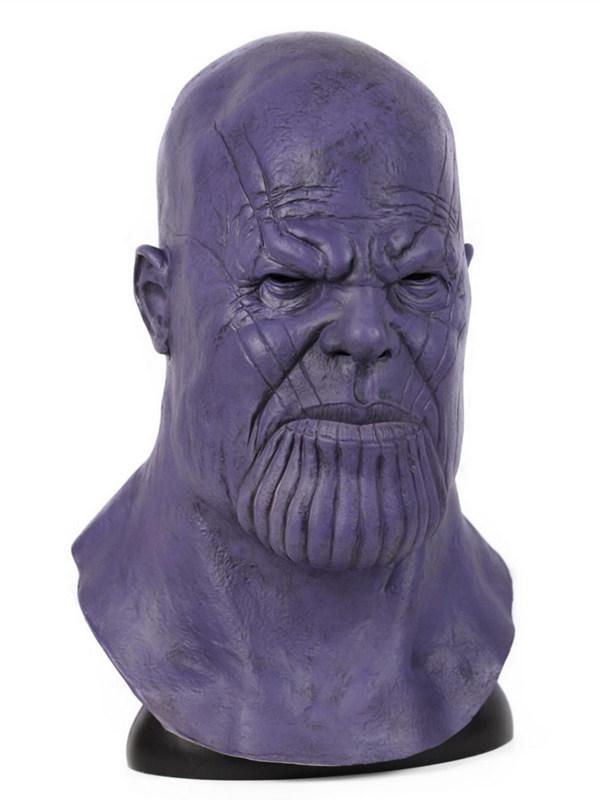 Avengers Endgame Thanos Cosplay Mask Halloween Latex Mask