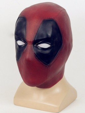 Marvel Deadpool Cosplay Mask Halloween Latex Mask