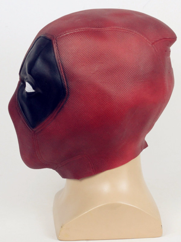 Marvel Deadpool Cosplay Mask Halloween Latex Mask