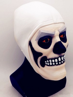 Fortnite Skull Trooper Cosplay Mask Latex Halloween Mask