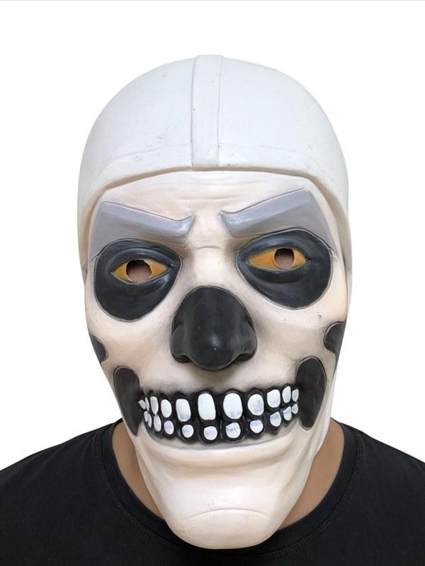 Fortnite Skull Trooper Cosplay Mask Latex Halloween Mask