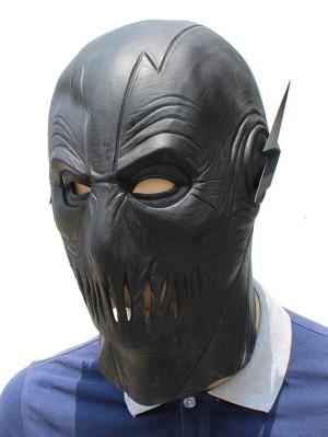Halloween Latex The Black Flash Mask Masquerade Mask